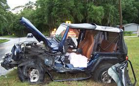 crashed jeep wrangler image gallery jeep crash