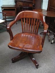 oak swivel and tilt desk chair antique desk chairs