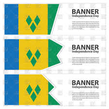 Flag Banner Clip Art St Vincent U0026 The Grenadines Flag Banners Royalty Free Vector Clip