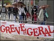 Greve geral contra cortes paralisa principais serviços de Portugal