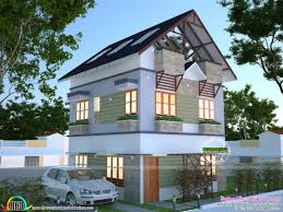 architecture kerala bhk single floor house plan and traditional