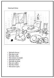 colour elementary worksheet