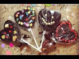 heart shaped chocolate how to make heart shaped chocolate lollipop for s day 情人