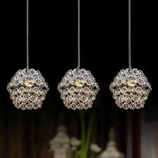 Beaded Pendant Light Shade Fashion Style Beaded Chandelier Multi Light Pendants Crystal