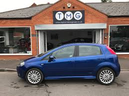 used fiat grande punto sporting for sale motors co uk