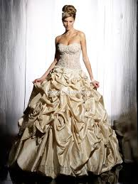 gold wedding gown top 10 2013 wedding dress style gold wedding inspiration trends