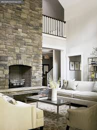 two story living room two story fireplace country living room atlanta homes lifestyles