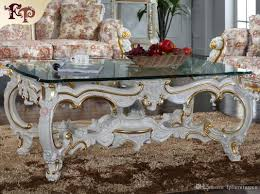 Classic Livingroom Baroque Style Living Room Furniture Royalty Classic Coffee Table