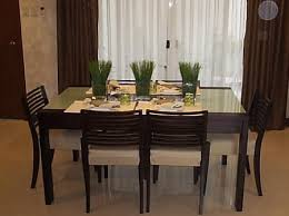 simple dining table decor interior design