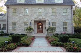 stunning 10 images colonial house landscaping home plans