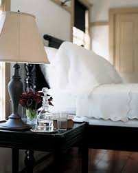 Black And White Bed by Black And White Rooms Martha Stewart