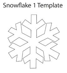 How To Make A Snowflakes Out Of Paper - snowflake ornament tutorial snowflake template simple snowflake