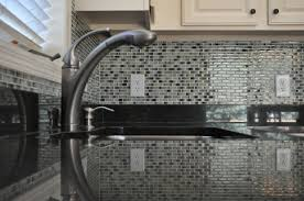 incredible white black colors mosaic tile kitchen backsplash