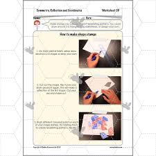 symmetry reflection and coordinates tessellation planbee