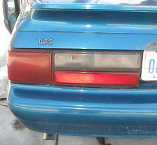 93 mustang lx tail lights 1989 ford mustang ebay