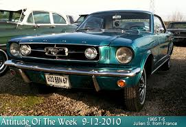 twilight blue mustang 1965 t 5 ford