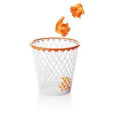 Wastepaper Basket Spalding Hoopster U201ccrunch Time