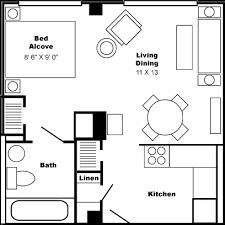 Flats Floor Plans Floor Plan Large Studio Apartment Philip Benjamin Tower
