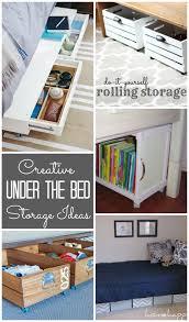 under bed storage diy underbed storage ideas design dazzle