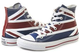 American Flag Shoes Converse Sneakers Chuck Taylor All Star Flag Hi 138449c