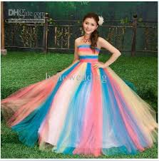 colorful wedding dresses stunning a line strapless colorful wedding dresses wedding