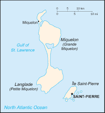 map of st and miquelon and miquelon wikitravel