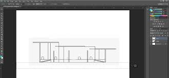 how to create a quick sectional architecture drawing in sketchup