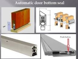 Exterior Door Bottom Seal Doors Emergency In Service Door Repair Refinish Wood Work