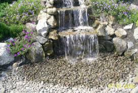 Backyard Pondless Waterfalls by Pondless Waterfall Landscaping Houston Landscape Houston Paver