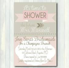 bridal brunch invites best 25 bridal shower invitation wording ideas on