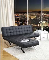 canape simili cuir noir lit simili cuir noir design