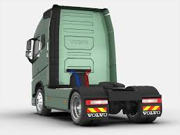 volvo lorry models volvo fh 16 2012 3d cgtrader