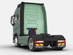volvo semi truck models volvo fh 16 2012 3d cgtrader