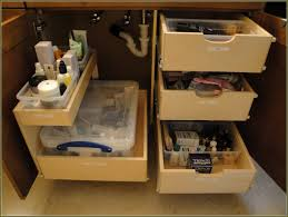Bathroom Vanity Pull Out Shelves by Pull Out Cabinet Organizer Real Solutions For Real Life Kitchen