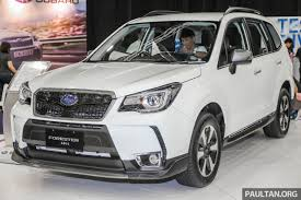 white subaru outback 2017 subaru forester 2 0i s launched in m u0027sia rm133 818