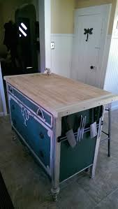 Old Kitchen Island by Unique Dresser Into Kitchen Island Kitchenfull99