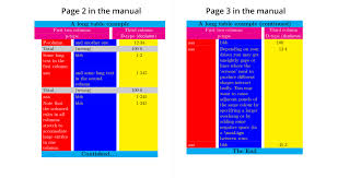 tables column color using the colortbl package example 4 in