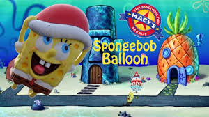 the spongebob balloon in the 2014 macy s thanksgiving day parade
