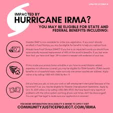hurricane irma resource page u2014 community justice project