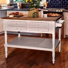 kitchen island with wood top darby home co brookstonval kitchen island with wood top reviews