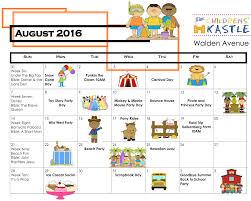 preschool s resource august calendar for 7 best images of
