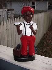 lawn jockey figures sculptures ebay