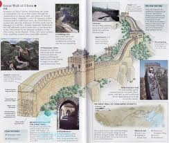 Great Wall Of China On Map by The Great Wall Of China Source Bing Images The