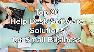Small Business Help Desk Top 20 Help Desk Software Solutions For Small Business