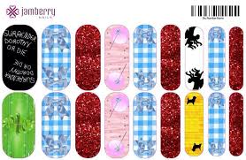 wizard of oz inspired jamberry nail wraps create your own custom