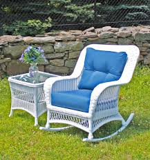 outdoor wicker rocker princeton