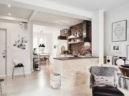 interior apartment with mix of gray tones