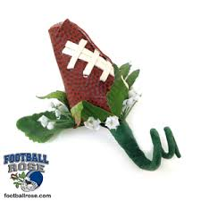 Rose Boutonniere 2017 Football Rose Boutonniere