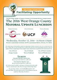 west orange mayoral update luncheon sold out west orange