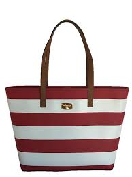 black friday handbags amazon michael kors medium jet set travel stripe tote red white handbags